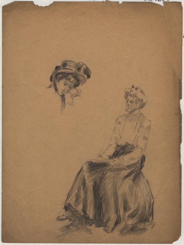 sketch of women