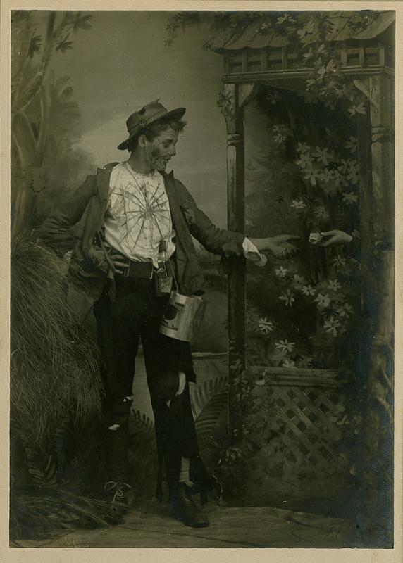poverty night ball circa 1900