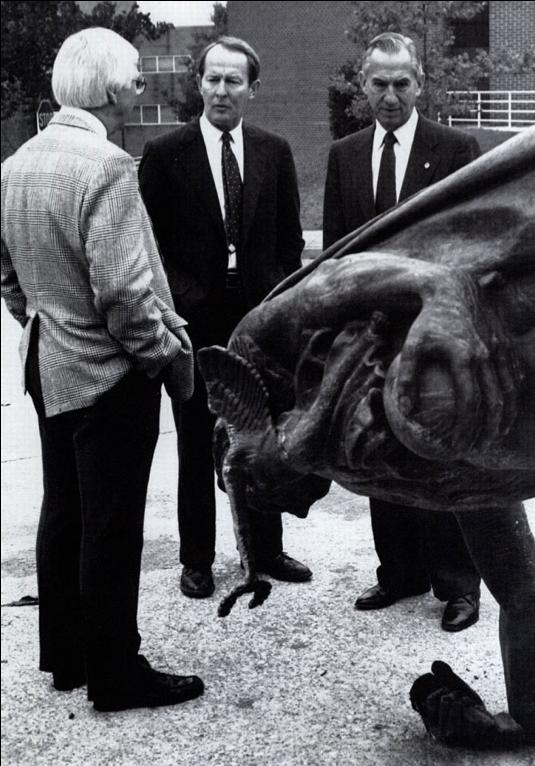 Administrators reviewing Vandalism in 1990