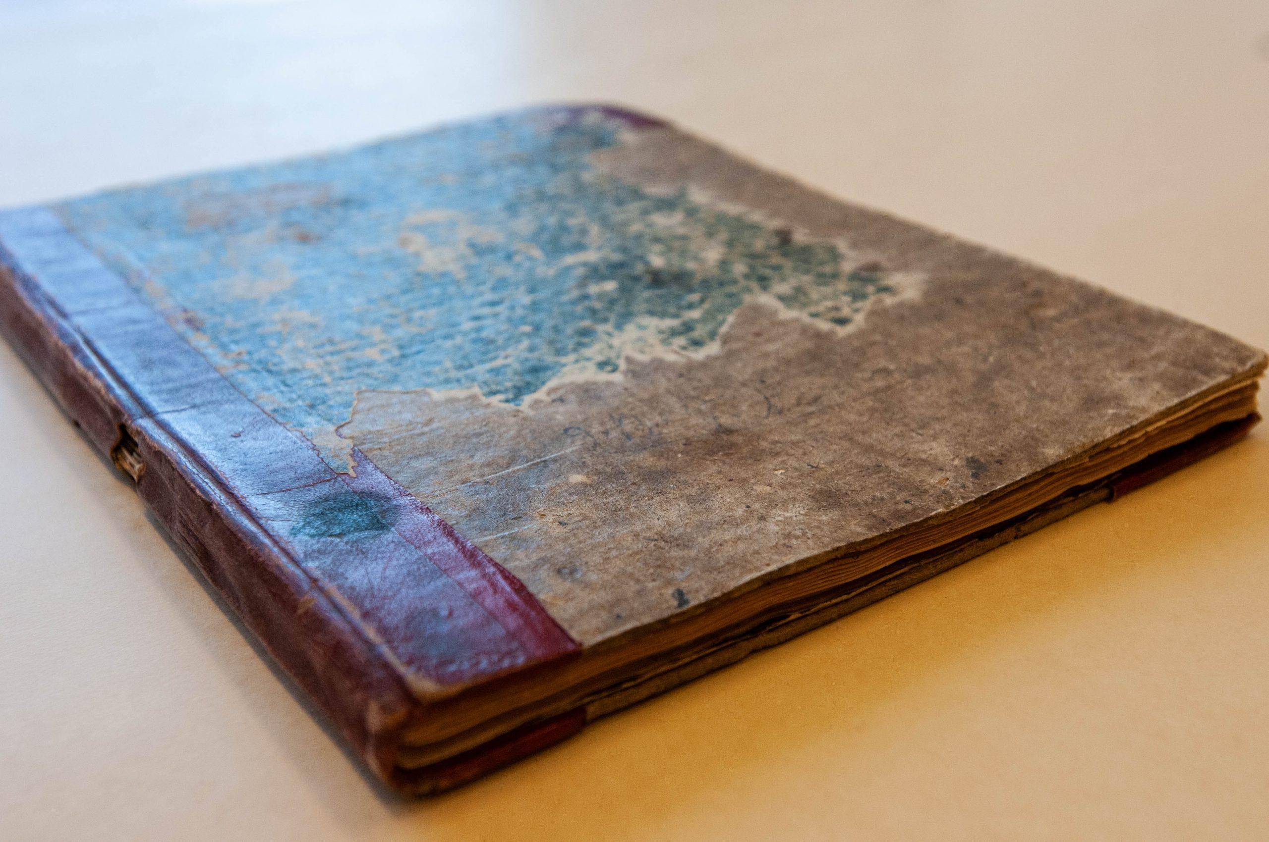 William Holland Thomas bound letter book
