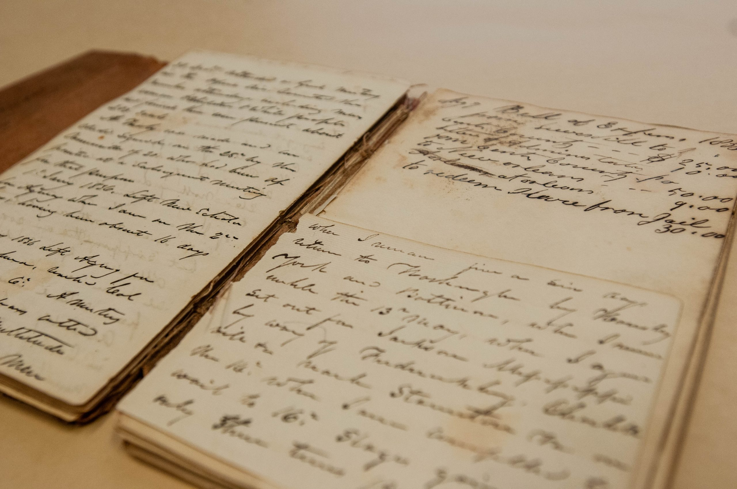 Diary of a disbursing agent for removal of the Cherokee Indians
