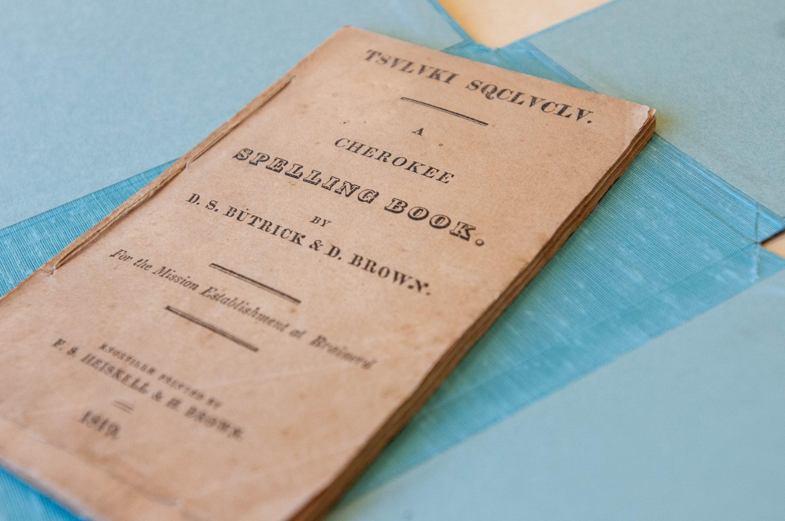 TSVLVKI SQCLVCLV: A Cherokee Spelling Book