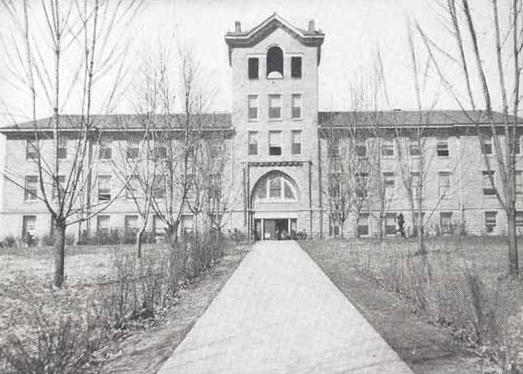 Main Building, Morristown Normal and Industrial College