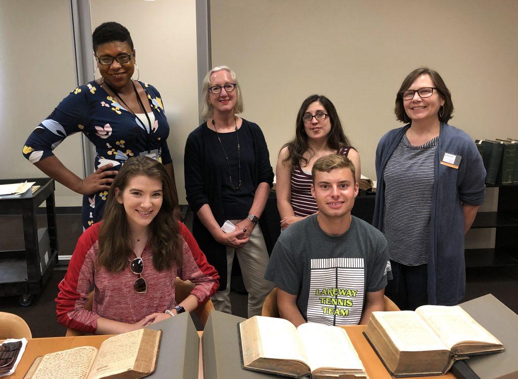 Civil War Medicine class visits Special Collections